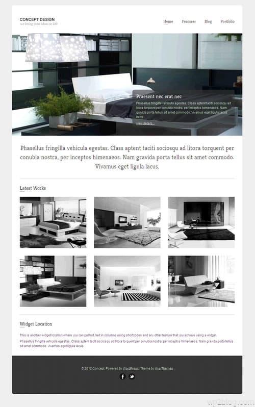 Concept WordPress Theme