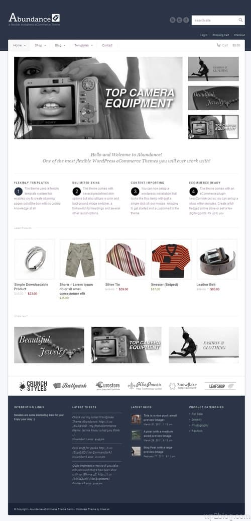 Abundance WordPress Theme