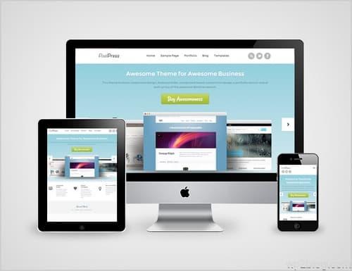PixelPress Responsive Design