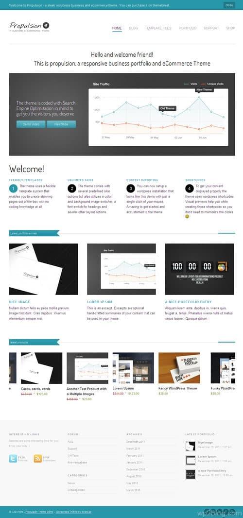 Propulsion WordPress Theme