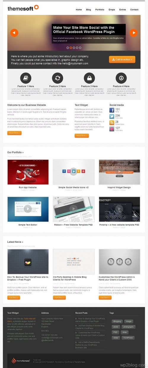 ThemeSoft WordPress Theme