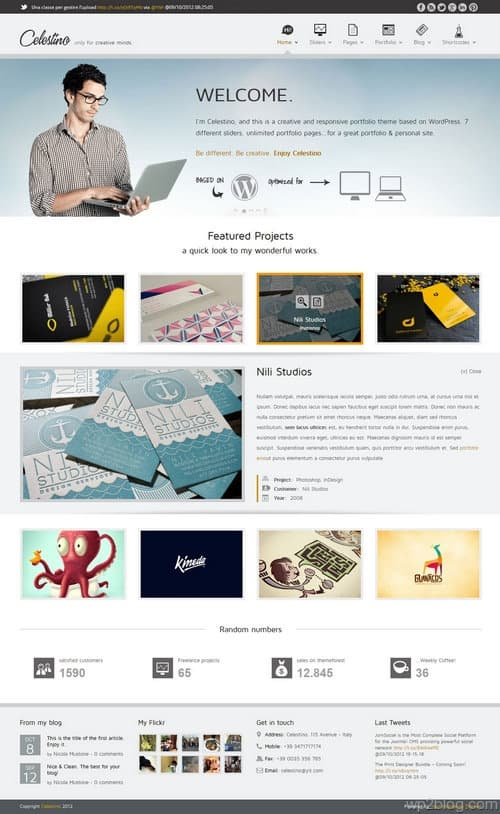 Celestino WordPress Theme