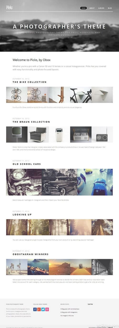 Picks WordPress Theme