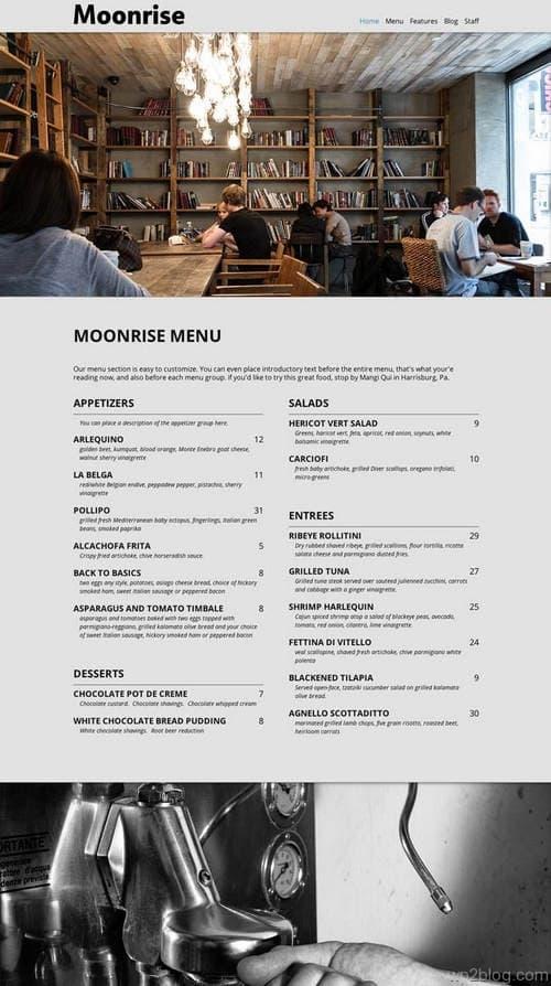 Moonrise WordPress Theme