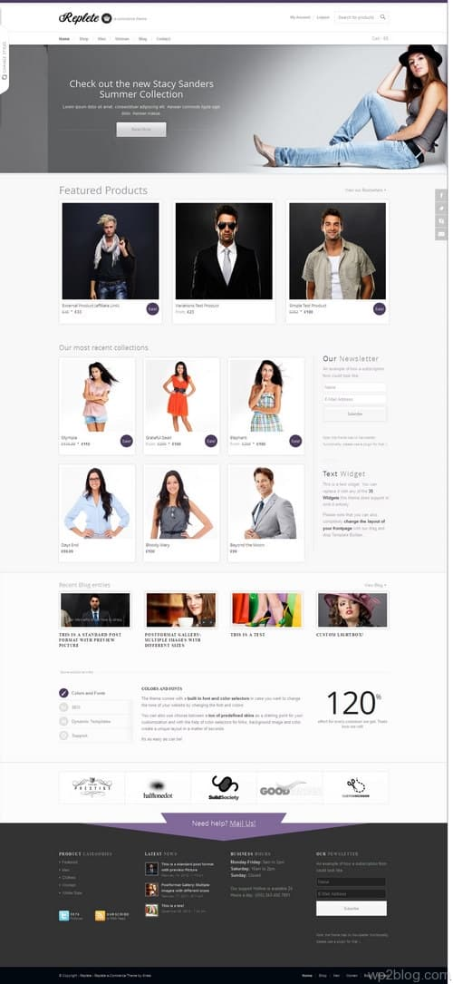 Replete WordPress Theme