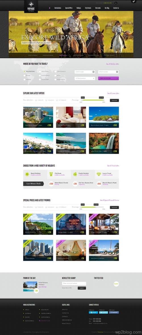 Voyage WordPress Theme