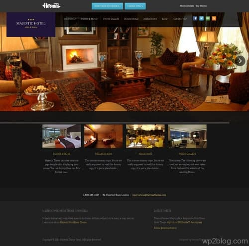 Majestic WordPress Theme