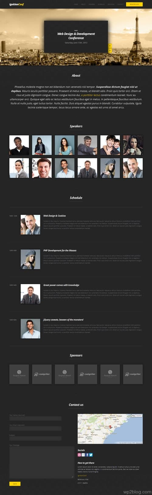 IgnitionConf WordPress Theme