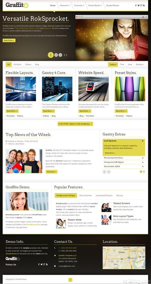 Graffito WordPress Theme