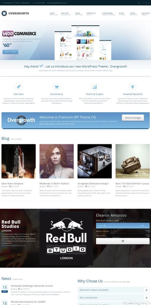 Overgrowth WordPress Theme