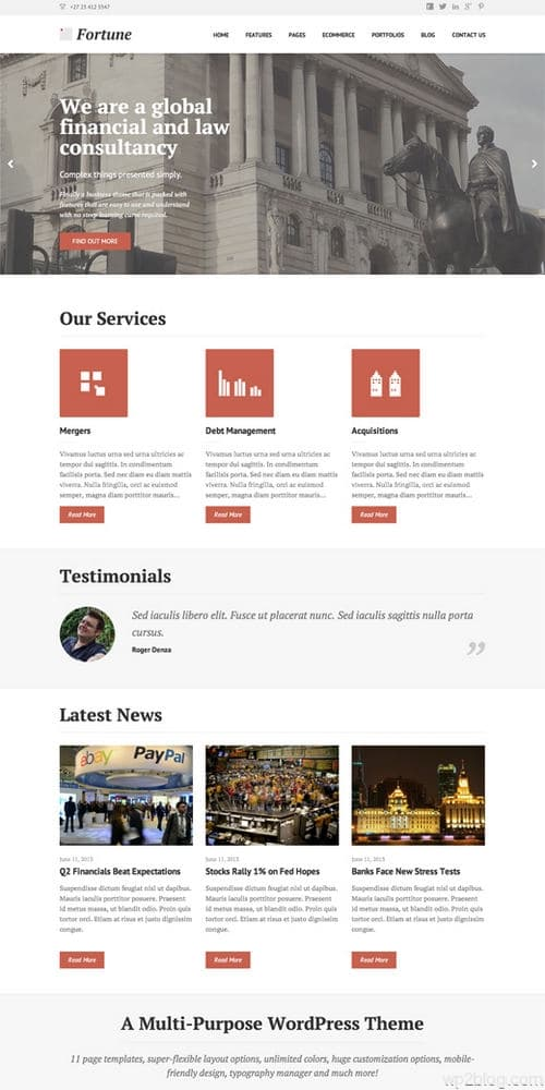 Fortune WordPress Theme