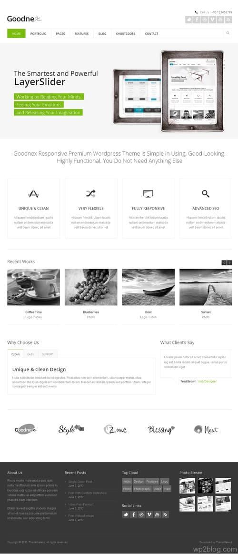 Goodnex WordPress Theme