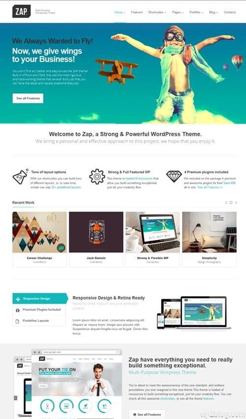 Zap WordPress Theme