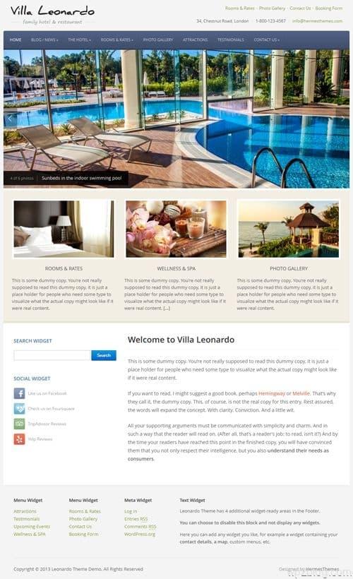Leonardo WordPress Theme
