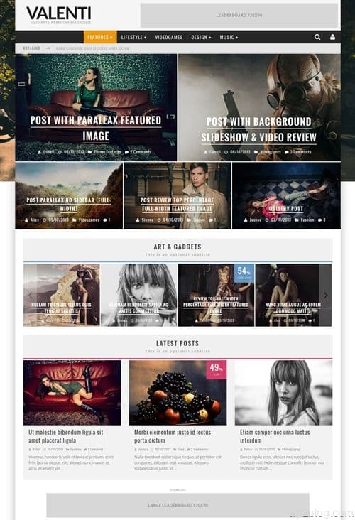 Cubell WordPress Theme