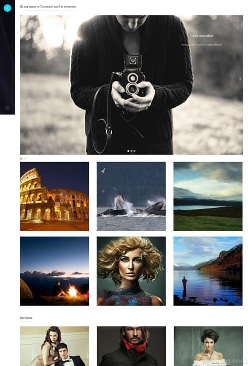 Chromatic WordPress Theme