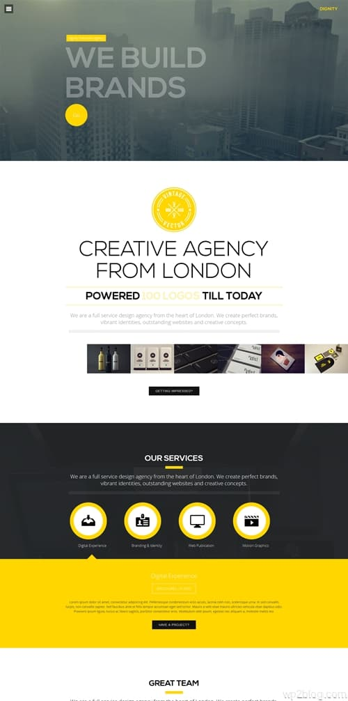 Dignity WordPress Theme