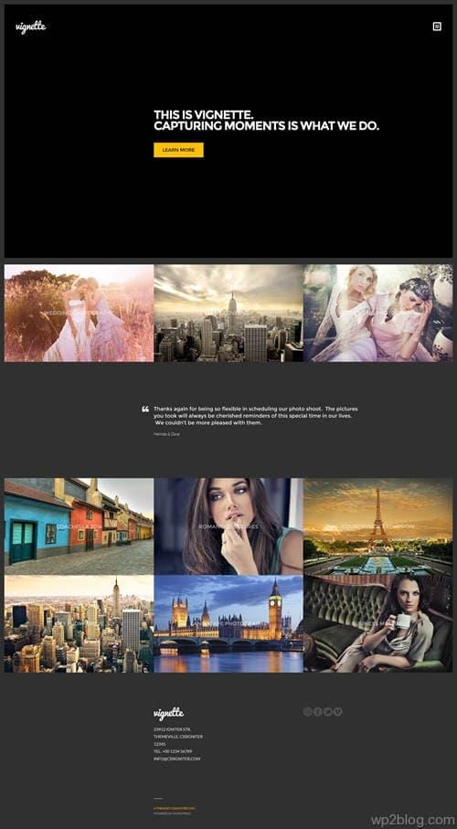 Vignette WordPress Theme