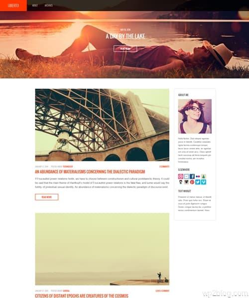 Uberto WordPress Theme
