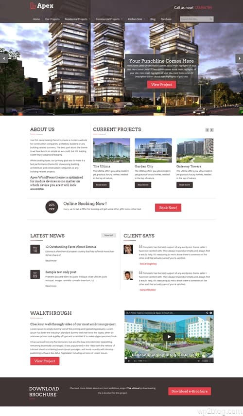 Apex WordPress Theme