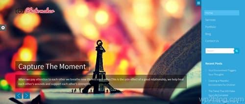 PhotoMaker WordPress Theme