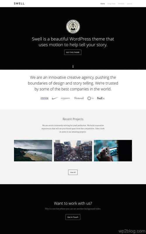 Swell WordPress Theme
