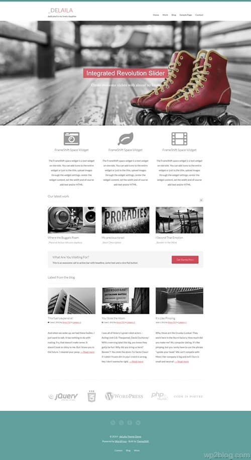 deLaila WordPress Theme