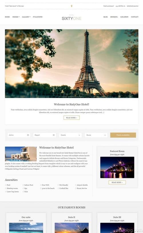 SixtyOne WordPress Theme