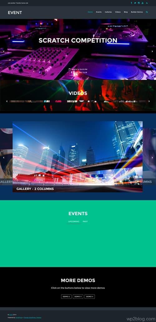 Event WordPress Theme
