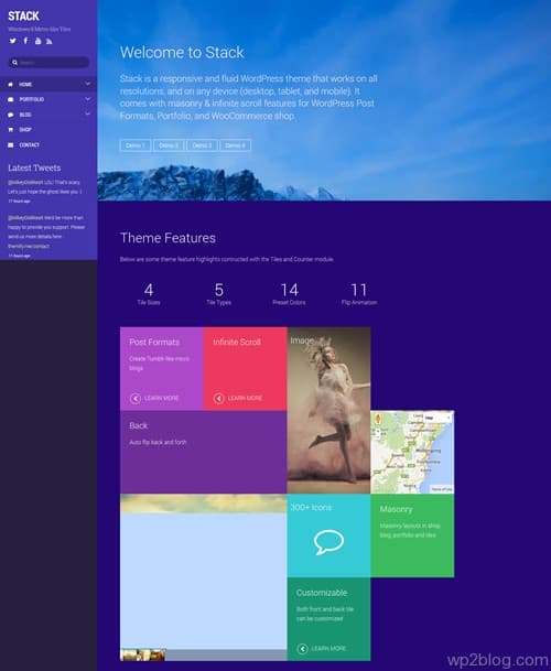 Stack WordPress Theme