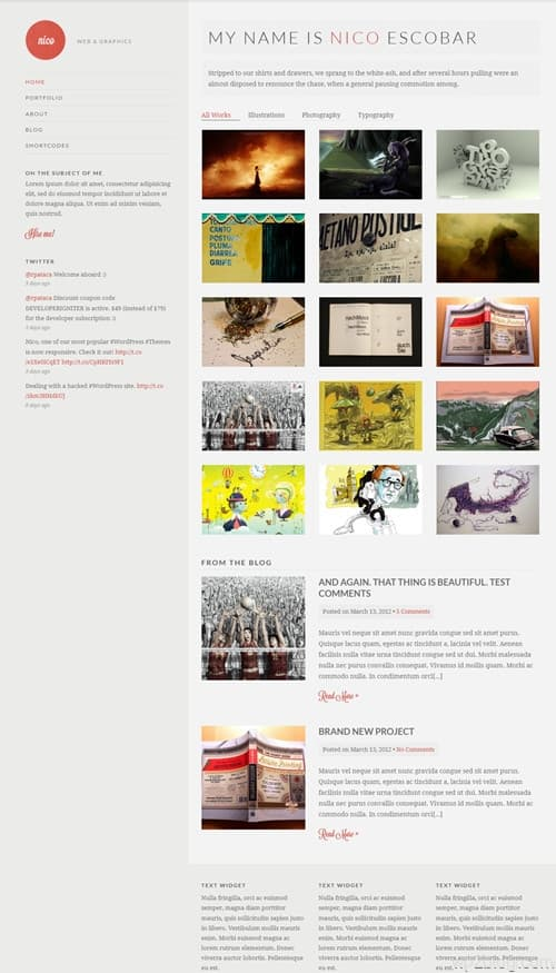 Nico WordPress Theme