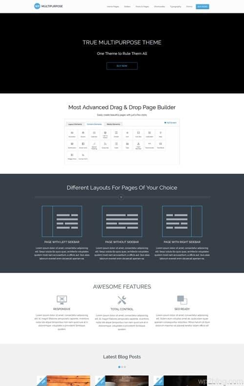 WP-Multipurpose WordPress Theme