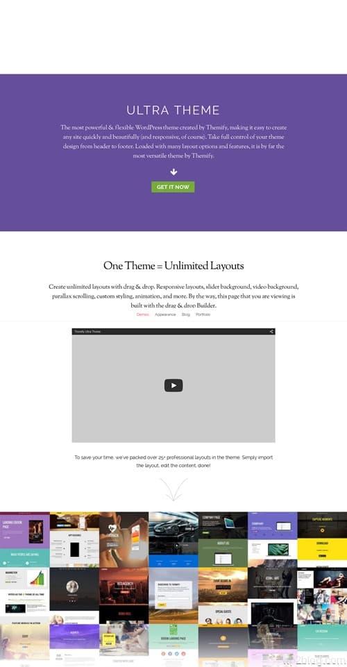 Ultra WordPress Theme