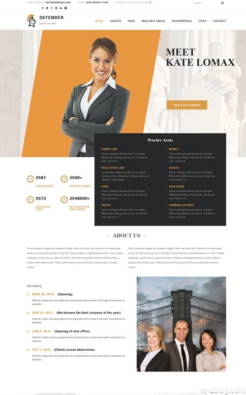 Defender WordPress Theme