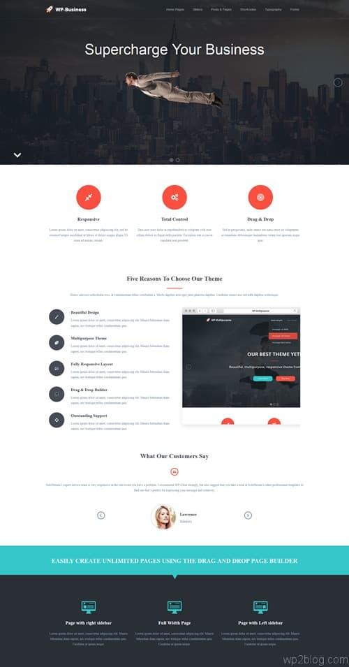 WP-Business WordPress Theme