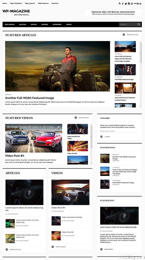 WP-Magazine WordPress Theme