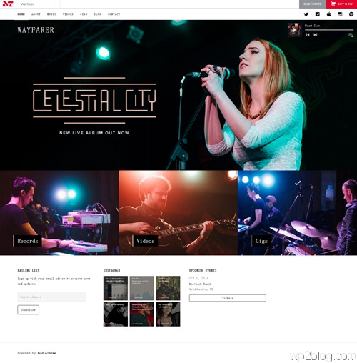Wayfarer WordPress Theme