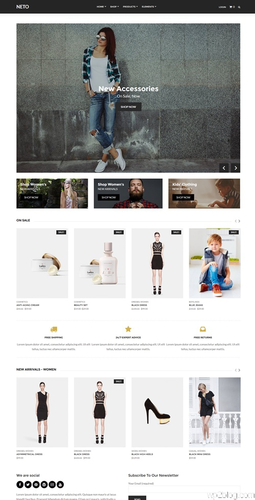 Neto WordPress Theme